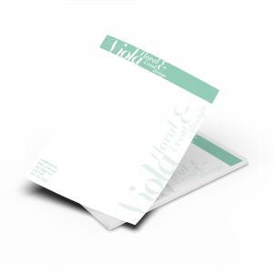 Letterhead - 1 & 2 Colours