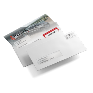 Direct Mail Letter with Window Envelope