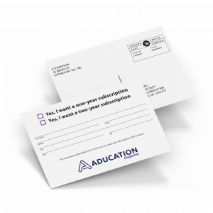 Business Reply Card Printing for Mailing