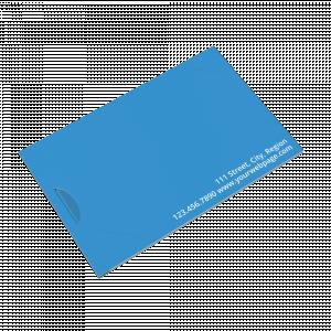 Blank Side Fold Card Carrier