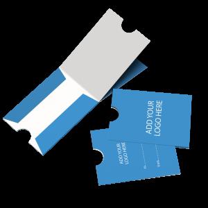 Blank Sleeve Card Carrier