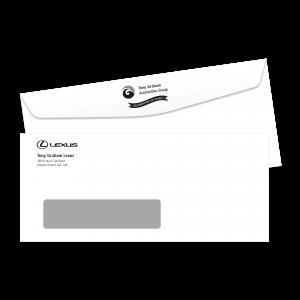 Tony Graham Lexus #10 Window Envelope