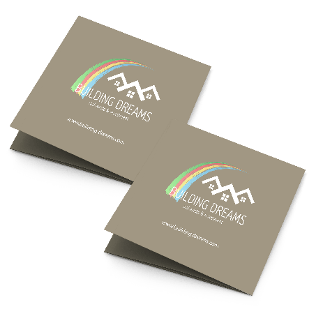 Fold-Over Business Cards