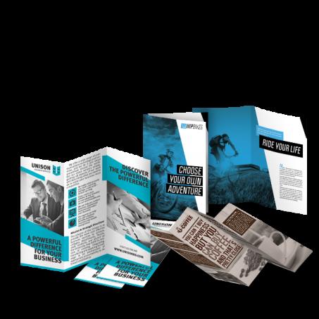 brochures 1 colour